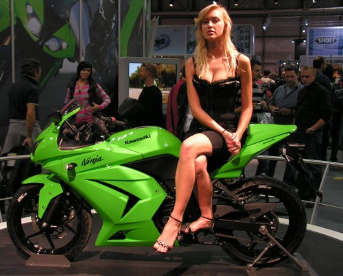 2009 Kawasaki Ninja 250R Sexy Girl