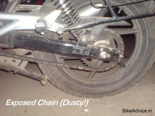 Motorcycle Chain Maintenance
