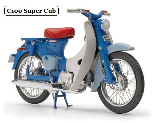 the history of honda motorcycles