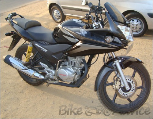 Honda Shine Modified To R15