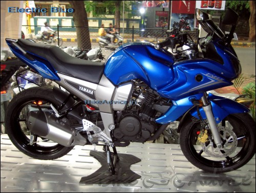 Yamaha-Fazer-Electric Blue
