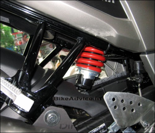 Yamaha-Fazer-Monocross Suspension