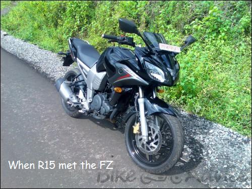 When R15 met the FZ