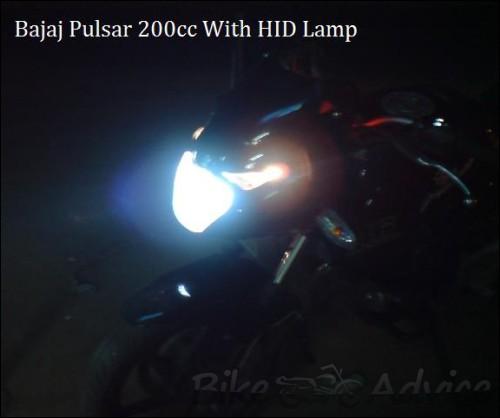 pulsar 200 with HId 2
