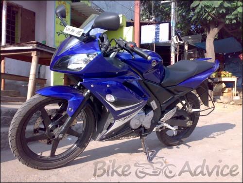 Yamaha R15 Radiator Yamaha R15 Review Photos by