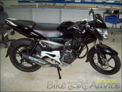 Bajaj Pulsar 135 DTS Si Spy Photos (2)
