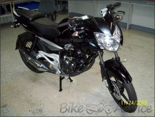 Bajaj Pulsar 135 DTS Si Spy Photos (4)