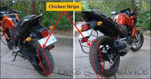 Yamaha Fazer Chicken Strips