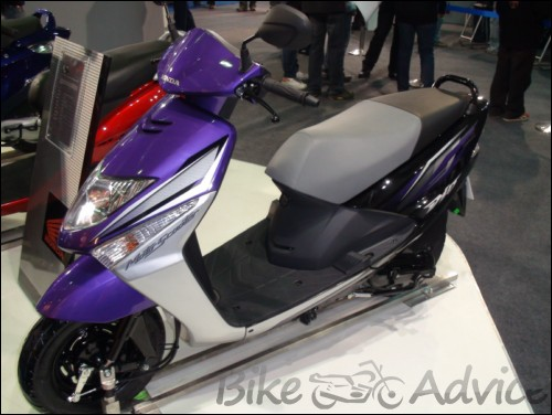 New Honda Dio First Look Bikeadvicein