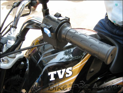 free motorcycle without  TVS Jive - The Clutch Free Wonder | BikeAdvice.in