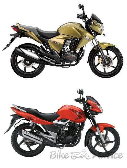 Honda CB Unicorn Dazzler Vs. Suzuki GS150R | BikeAdvice.in