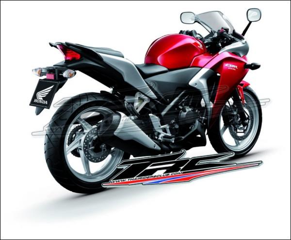 2011 Honda CBR250R Revealed   BikeAdvice in