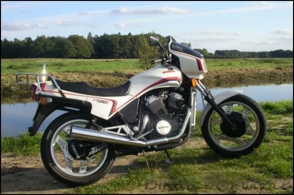 1984 Honda ascot vt500ft