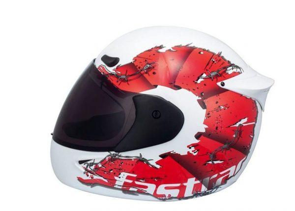 Fastrack-White-Full-Face-Helmet