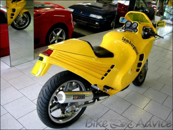 Lamborghini Design 90 One Of The Rarest Motorcycles In