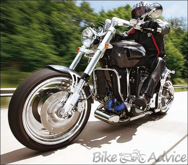 neander 1400 most powerful diesel motorcycle ever