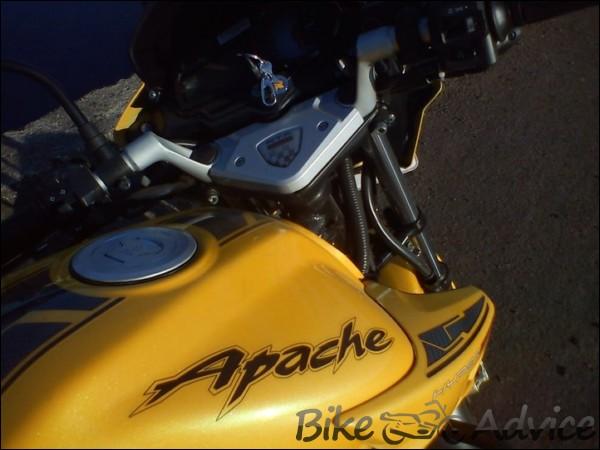 TVS Apache RTR Hyper-Edge Ownership Review by Shreejith