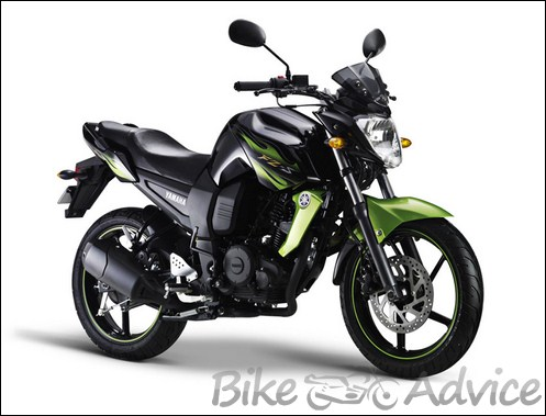 The new colours of yamaha fz s for Yamaha motorcycles made in china