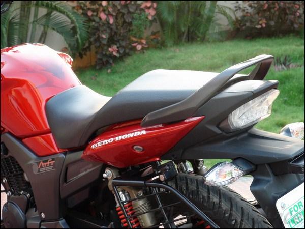 Hero Honda Hunk Review 74