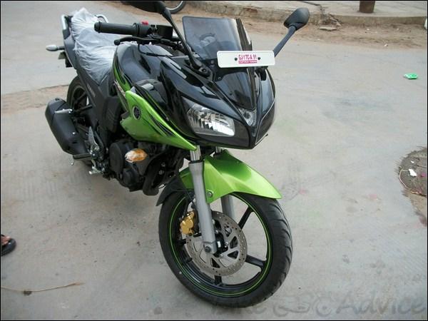 New Honda Motorcycles >> Yamaha Fazer - Black Cyber Green | BikeAdvice.in