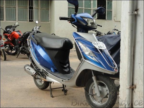 Tvs Scooty Streak Ownership Review By Dhruv Panchal Bikeadvice on Suzuki Single Cylinder Motorcycles