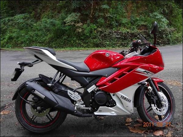 R15 V2 Red And White Yamaha R15 V2 P...