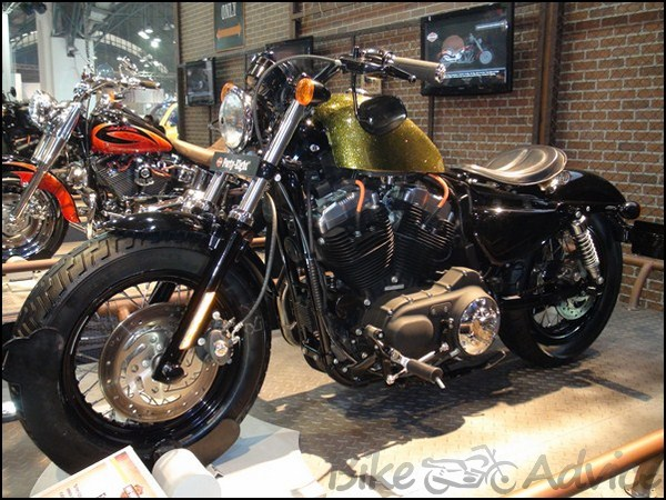 Harley Davidson Breakout  Custom Parts Front Axle Caps
