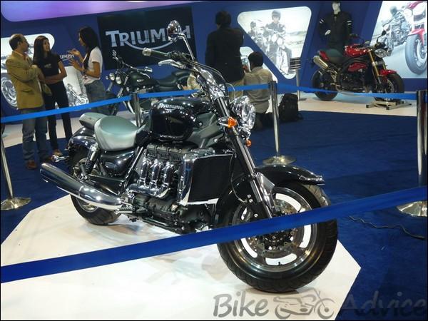 Auto Expo 2012 Triumph Stall, Models, Details & Prices BikeAdvice (1)