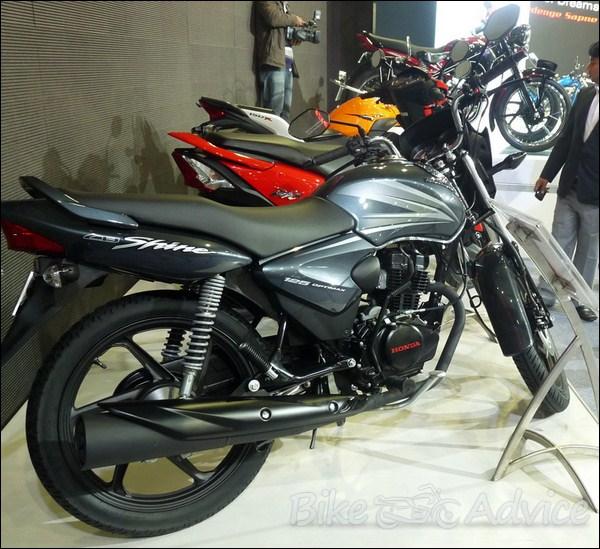 Honda Shine Bike Grey Colour Women And Bike