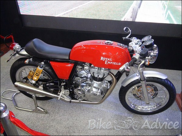 Royal Enfield to Launch Cafe Racer aka Continental GT by End 2013
