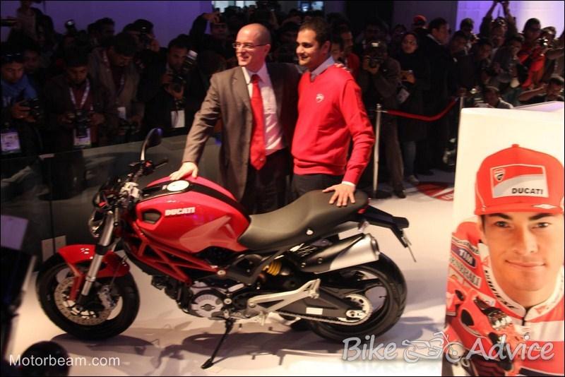 Ducati monst... Ducati Monster In India
