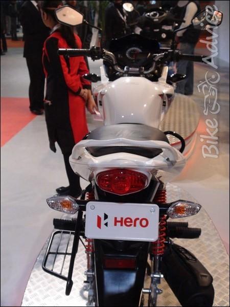 Hero Ignitor 125cc Photos From The Auto Expo 2012