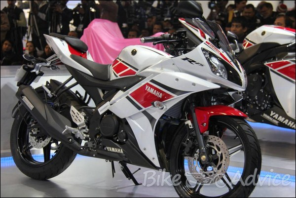 Yamaha R15V2 0 Limited Editions Showcased at Auto Expo