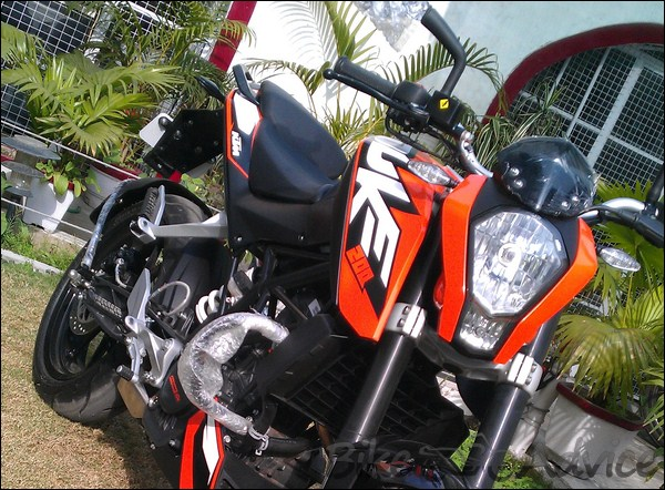 Interview with Asif, a KTM Duke 200 Owner   BikeAdvice in