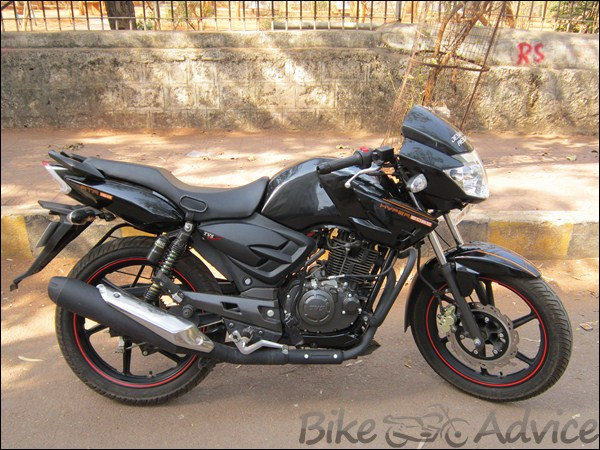 TVS Apache RTR Ownership Review by Dinesh