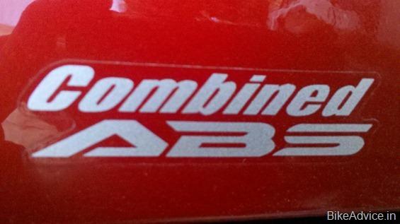 ABS Honda CBR 2012