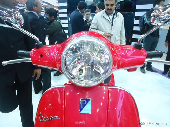 Vespa Scooter front