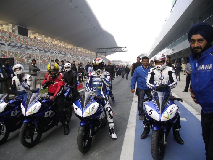 Bikes Racing In India Buddh Circuit