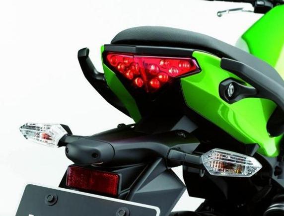 2012 Kawasaki Ninja 650R rear