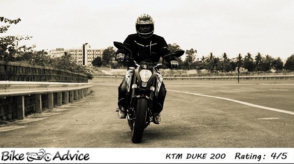 Bajaj KTM Duke Bikeadvice Rating