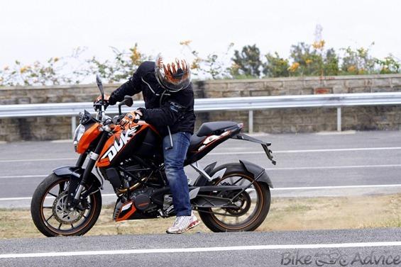 Duke 200 cc India