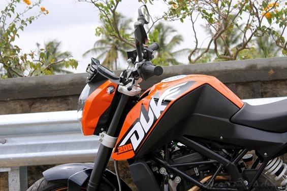 Duke 200 design