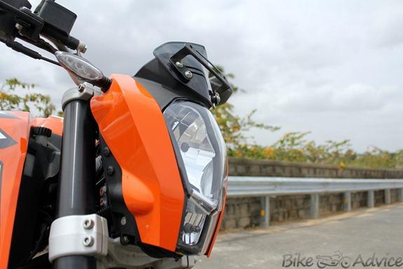 Duke headlight