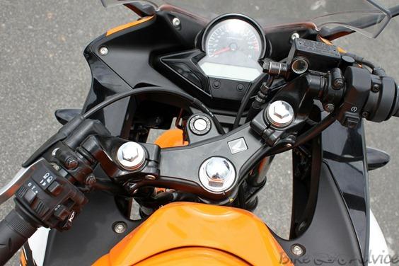 Honda CBR150R head