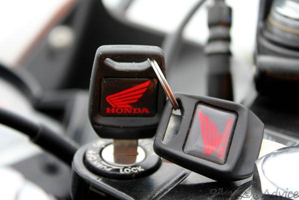 Honda CBR150R key