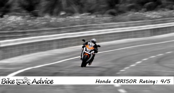 Honda CBR150R rating india
