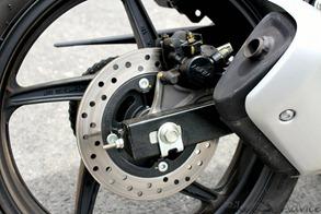 Honda CBR150R rear disk brake