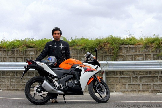 Honda CBR150R review by sharat aryan
