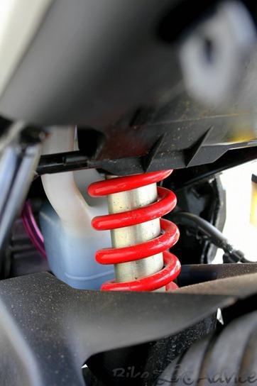 Honda CBR150R shock absorber