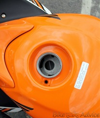 Honda CBR150R tank
